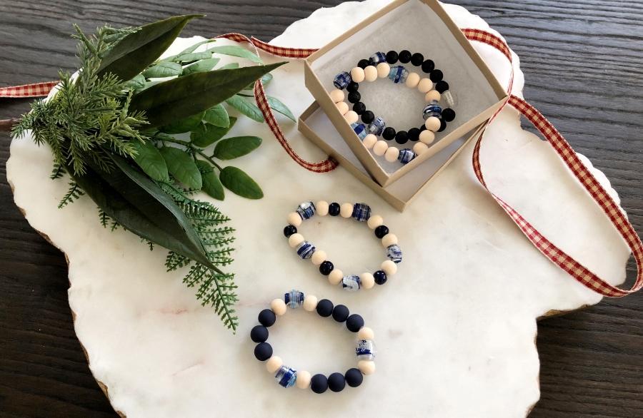 DIY Recycled Plastic Bottle Bracelets