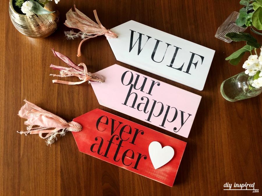 Wood Scrap Valentine Craft Idea