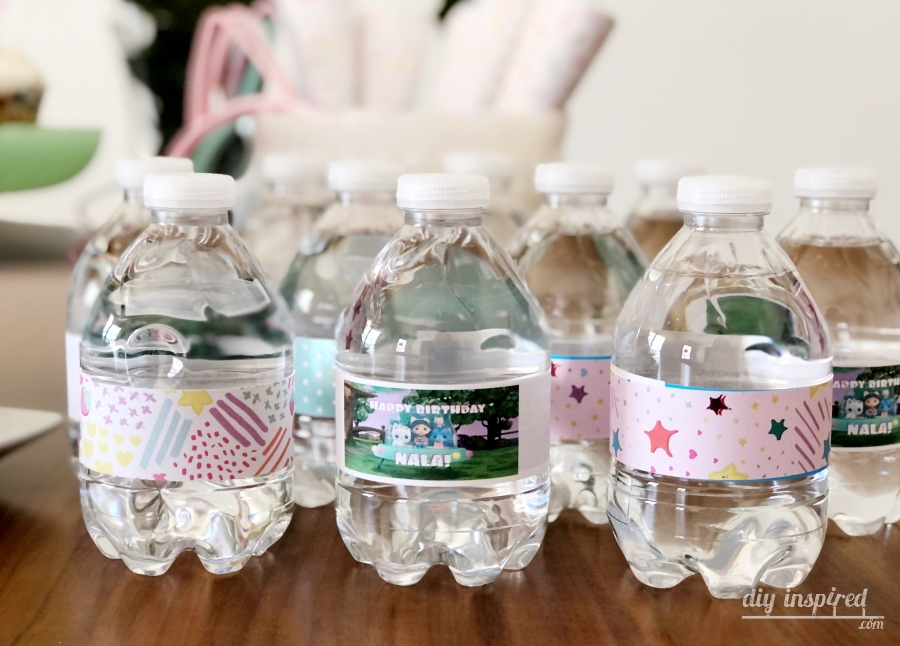 Gabbys Dollhouse Water Bottles