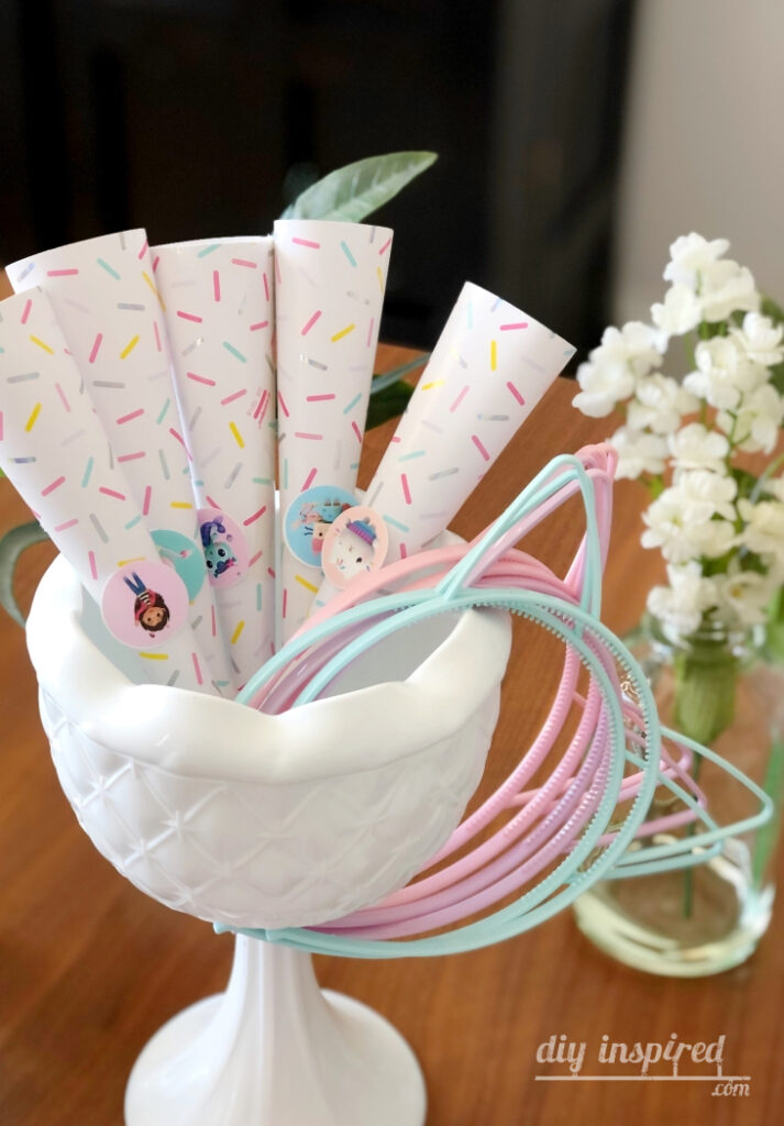 Pastel Cat Headband Party Favors