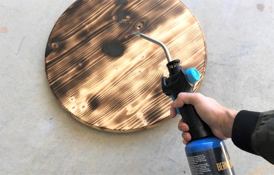 Two Tone Wood Burning