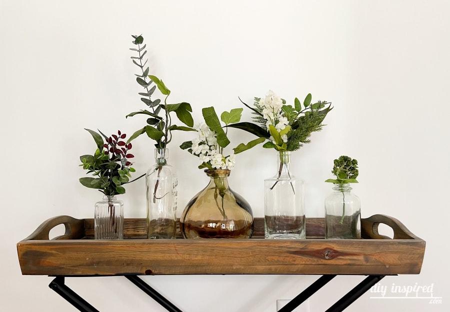 Frascos e potes de vidro reciclado