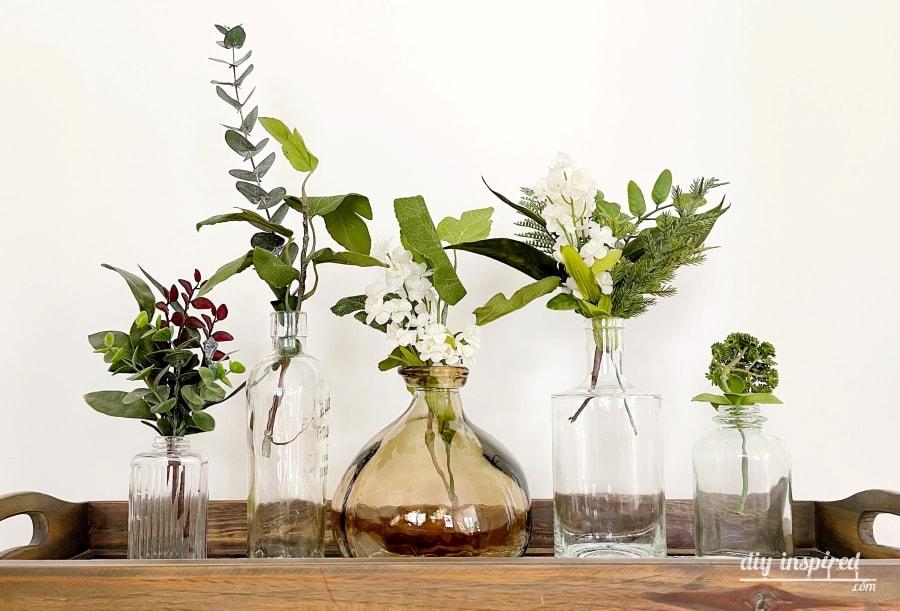 Maneiras de reutilizar garrafas e potes de vidro