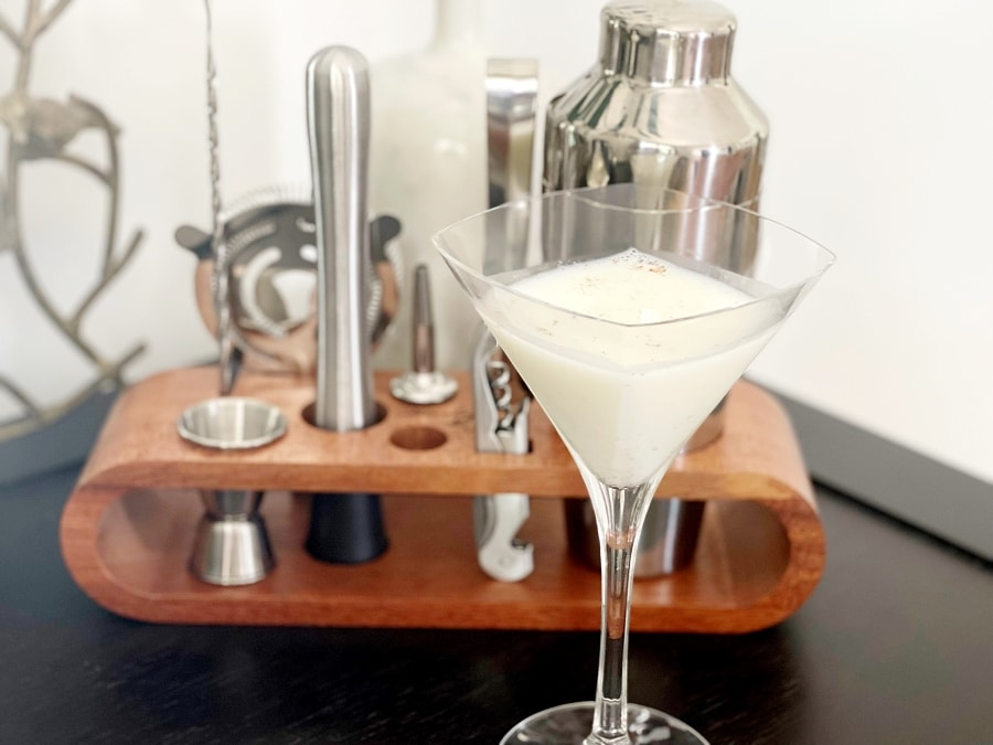 Salted Butter Pecan Martini Holiday Cocktail
