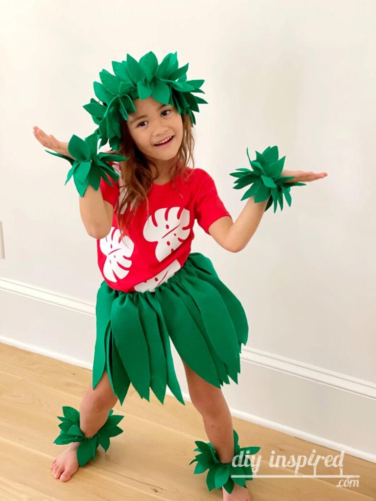 DIY Lilo Hula Costume