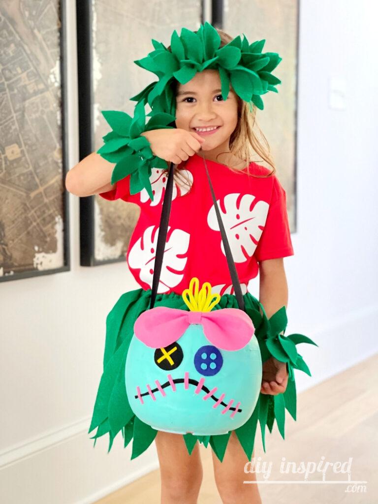 DIY Lilo and Scrump Halloween Costume