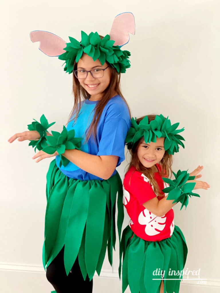 DIY Lilo and Stitch Couples Halloween Costume