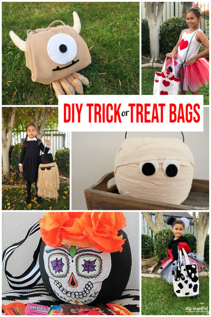 DIY Trick or Treat Bag Ideas - DIY Inspired