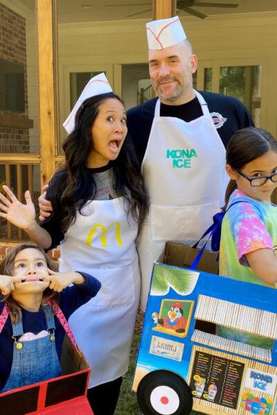 Food Truck Family Halloween Costume Idea