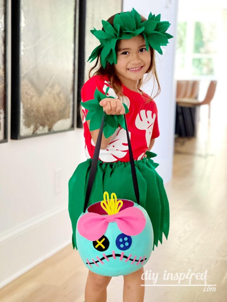 Lilo and Scrump Halloween Costume DIY