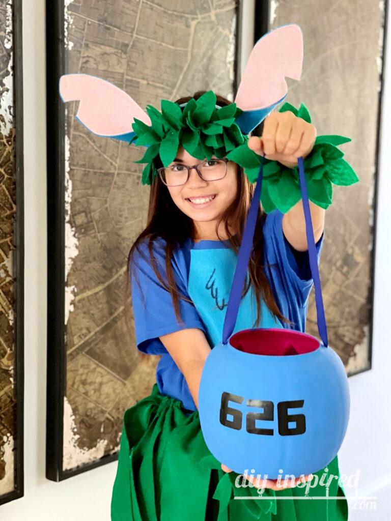 Stitch 626 Trick or Treat Pail DIY