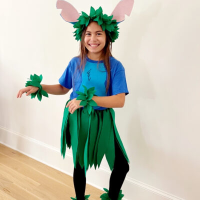 DIY Stitch Costume for Adults