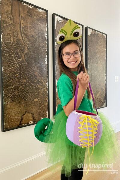 DIY Pascal Rapunzel Costume